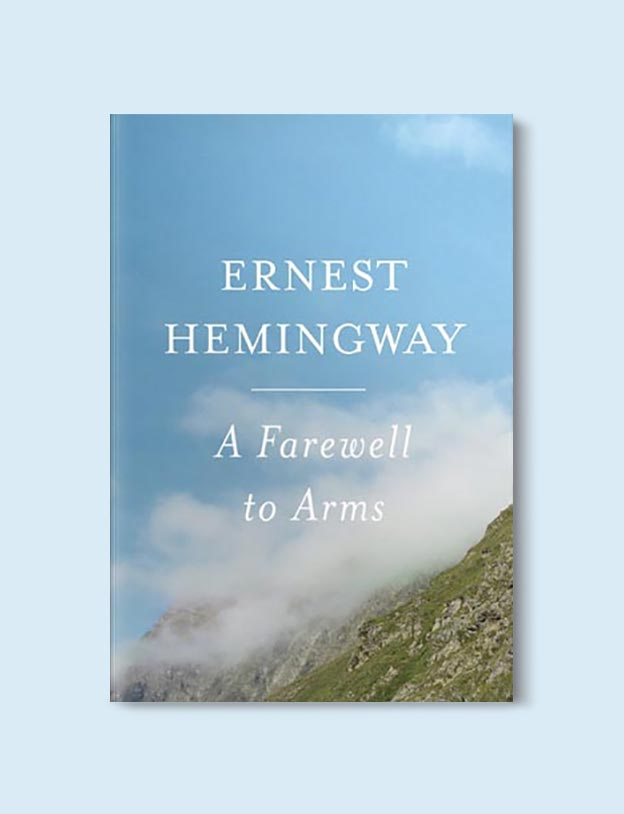Books Set In Italy - A Farewell to Arms by Ernest Hemingway. For more books that inspire travel visit www.taleway.com to find books set around the world. italian books, books about italy, italy inspiration, italy travel, novels set in italy, italian novels, books and travel, travel reads, reading list, books around the world, books to read, books set in different countries, italy