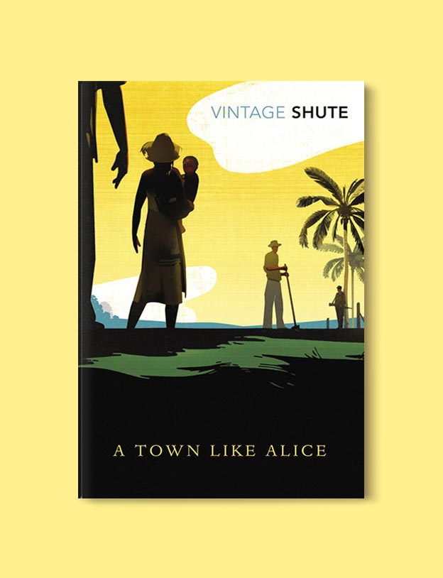 Books Set In Australia - A Town Like Alice by Nevil Shute. For more books visit www.taleway.com to find books set around the world. Ideas for those who like to travel, both in life and in fiction. australian books, books and travel, travel reads, reading list, books around the world, books to read, books set in different countries, australia
