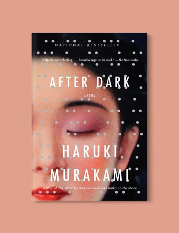 Books Set In Japan - After Dark by Haruki Murakami. For more books visit www.taleway.com to find books set around the world. Ideas for those who like to travel, both in life and in fiction. #books #novels #bookworm #booklover #fiction #travel #japan