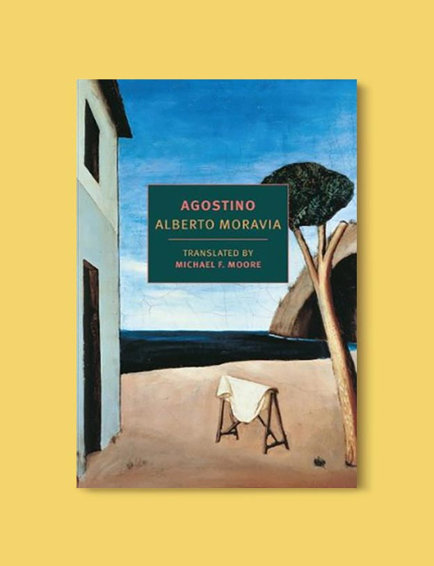 Books Set In Italy - Agostino by Alberto Moravia. For more books that inspire travel visit www.taleway.com to find books set around the world. italian books, books about italy, italy inspiration, italy travel, novels set in italy, italian novels, books and travel, travel reads, reading list, books around the world, books to read, books set in different countries, italy