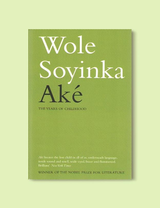 Books Set In Nigeria - Aké: The Years of Childhood by Wole Soyinka. For more books visit www.taleway.com to find books set around the world. Ideas for those who like to travel, both in life and in fiction. Books Set In Africa. Nigerian Books. #books #nigeria #travel