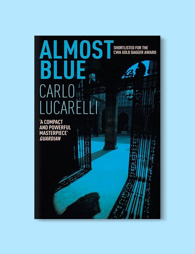 Books Set In Italy - Almost Blue by Carlo Lucarelli. For more books that inspire travel visit www.taleway.com to find books set around the world. italian books, books about italy, italy inspiration, italy travel, novels set in italy, italian novels, books and travel, travel reads, reading list, books around the world, books to read, books set in different countries, italy