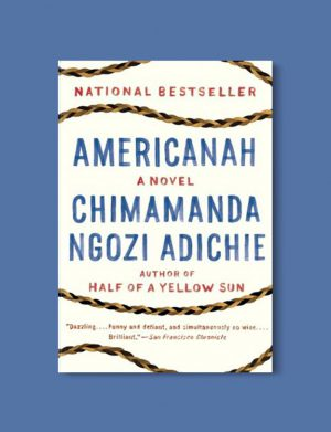 Books Set In Nigeria - Americanah by Chimamanda Ngozi Adichie. For more books visit www.taleway.com to find books set around the world. Ideas for those who like to travel, both in life and in fiction. Books Set In Africa. Nigerian Books. #books #nigeria #travel