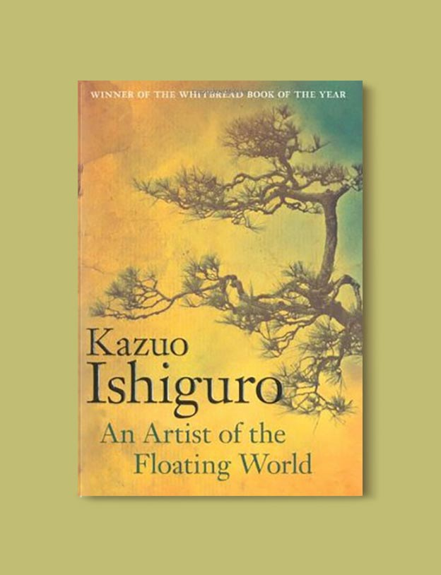Books Set In Japan - An Artist of the Floating World by Kazuo Ishiguro. For more books visit www.taleway.com to find books set around the world. Ideas for those who like to travel, both in life and in fiction. #books #novels #bookworm #booklover #fiction #travel #japan