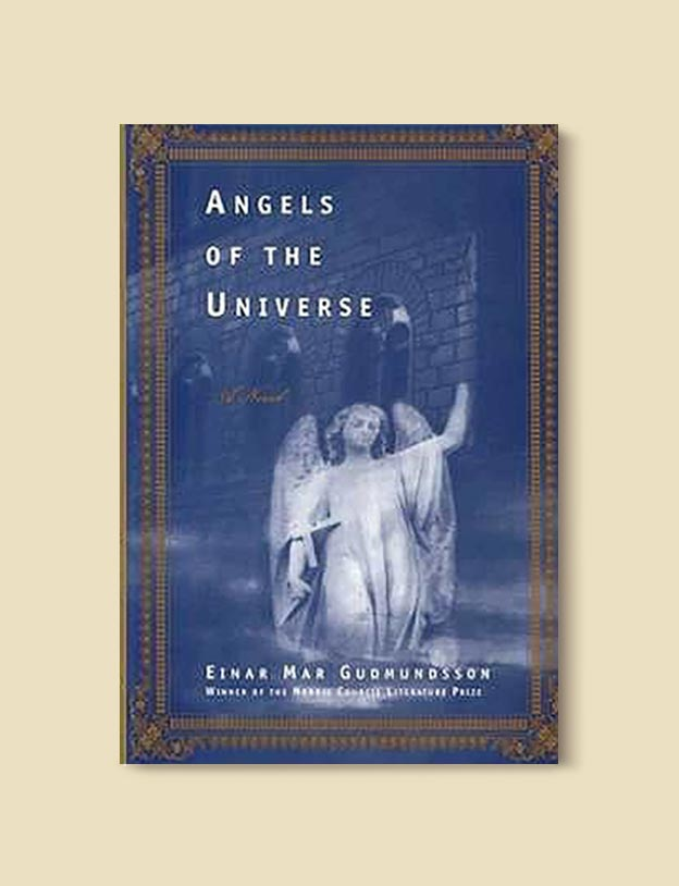 Books Set In Iceland - Angels of the Universe by Einar Már Guðmundsson. For more books visit www.taleway.com to find books set around the world. Ideas for those who like to travel, both in life and in fiction. #books #novels #fiction #iceland #travel