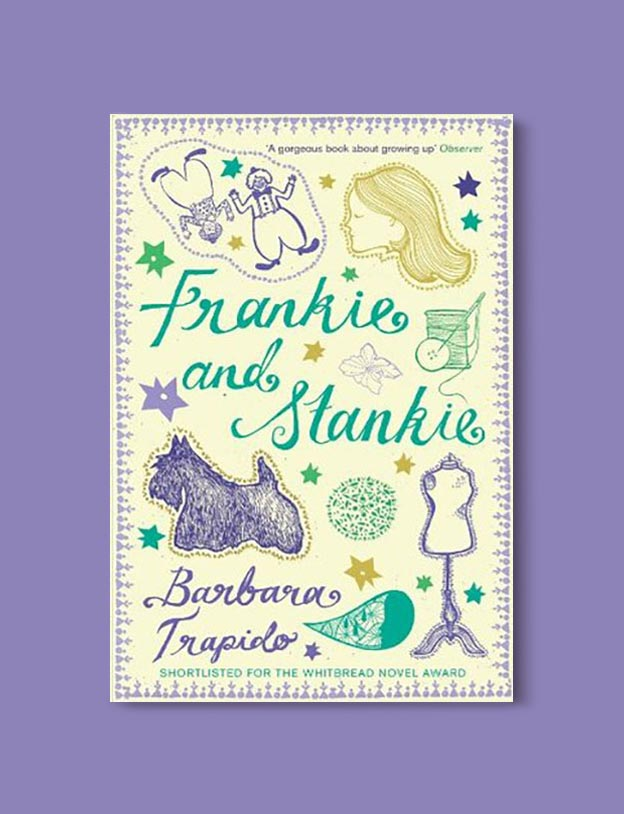 Books Set In South Africa - Frankie and Stankie by Barbara Trapido. For more books that inspire travel visit www.taleway.com to find books set around the world. south african books, books about south africa, south africa inspiration, south africa travel, novels set in south africa, south african novels, books and travel, travel reads, reading list, books around the world, books to read, books set in different countries, south africa