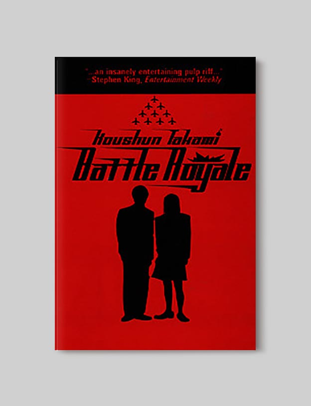 Books Set In Japan - Battle Royale by Koushun Takami. For more books visit www.taleway.com to find books set around the world. Ideas for those who like to travel, both in life and in fiction. #books #novels #bookworm #booklover #fiction #travel #japan