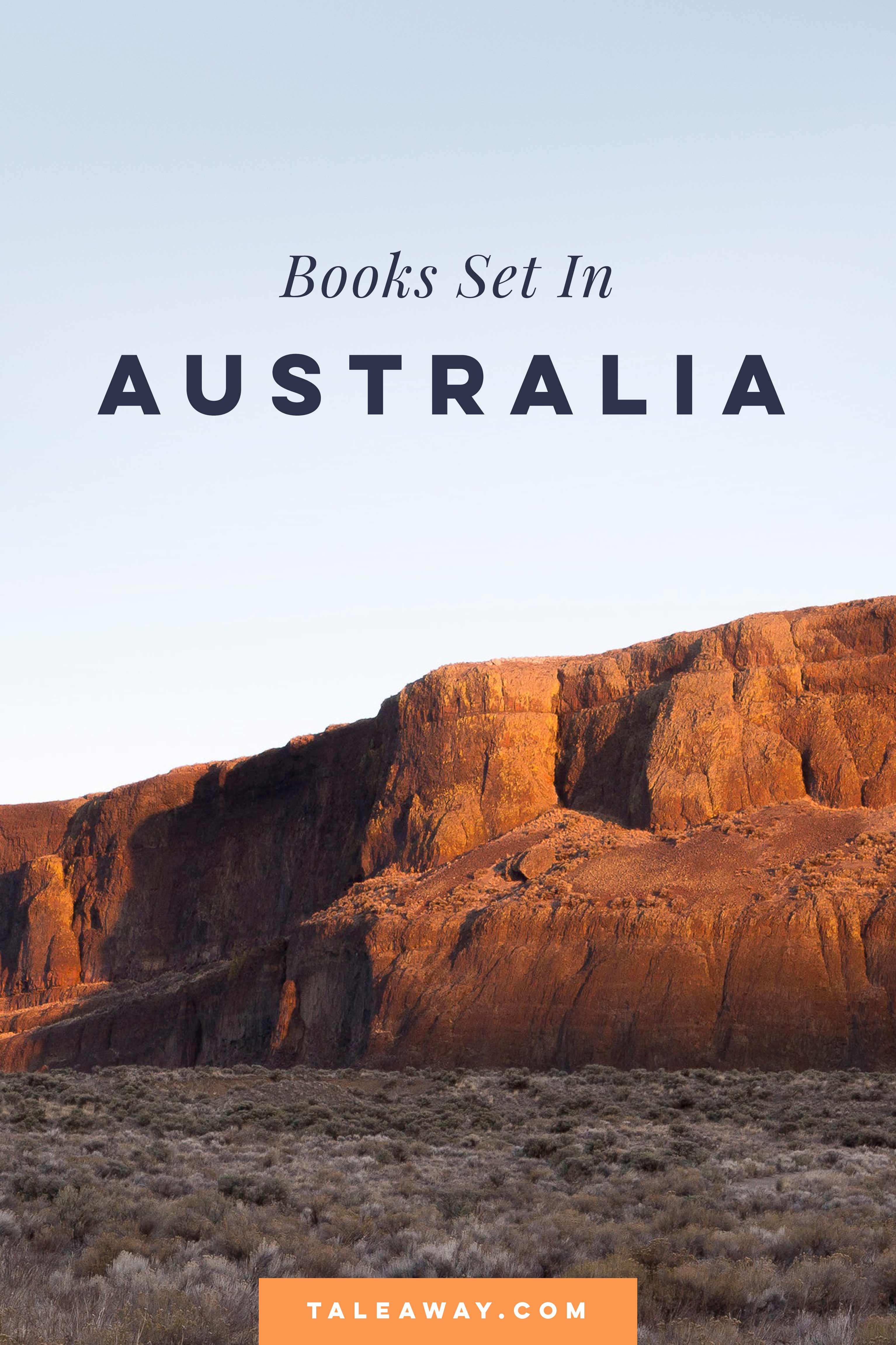 Books Set In Australia - For more books visit www.taleway.com to find books set around the world. Ideas for those who like to travel, both in life and in fiction. australian books, books and travel, travel reads, reading list, books around the world, books to read, books set in different countries, australia