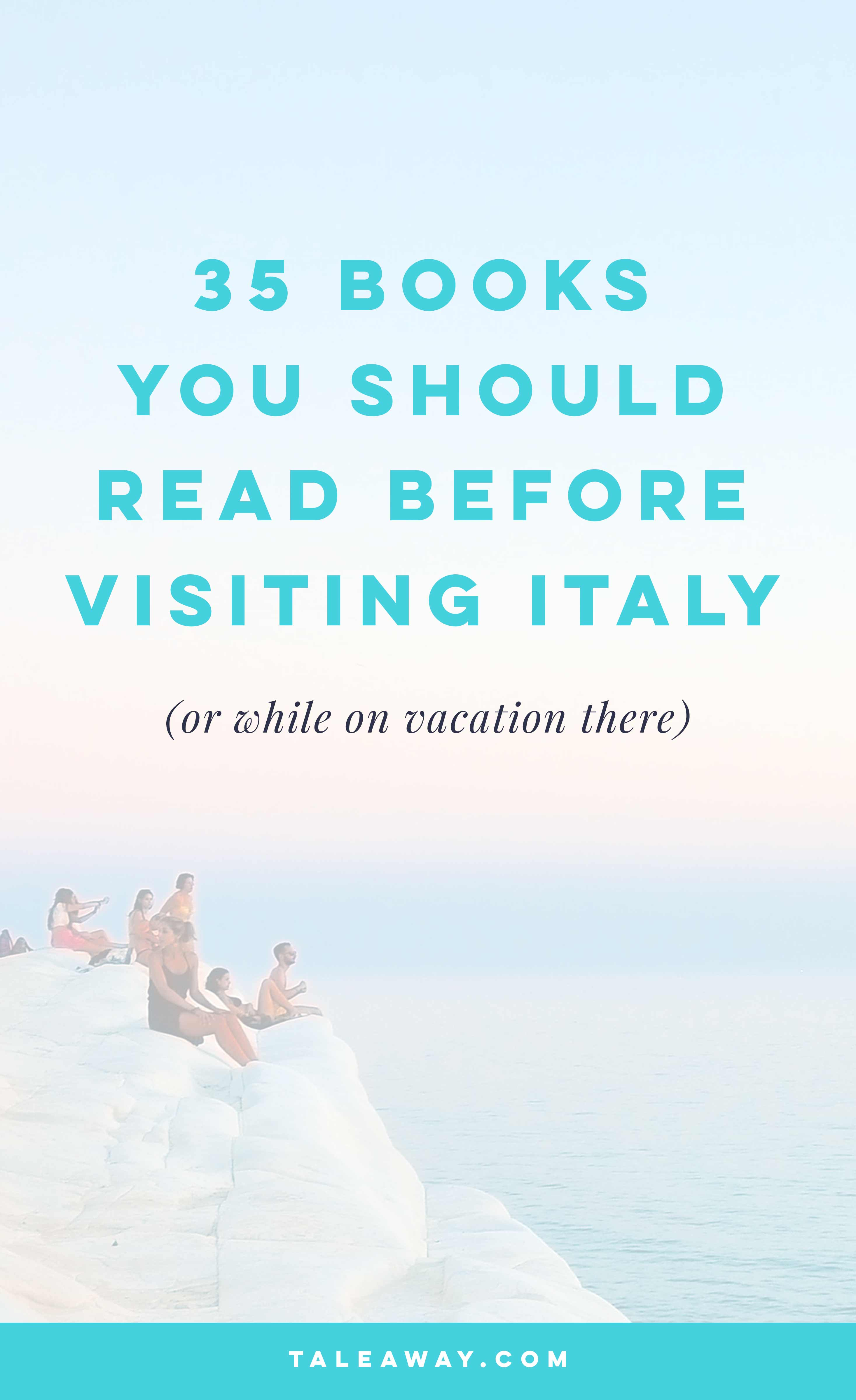 Books Set In Italy Tale Away Books For Readers Who Travel