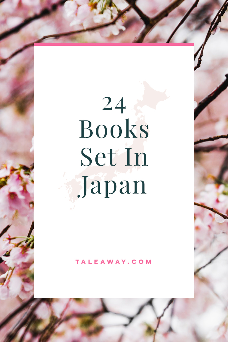 Books Set In Japan. For more books visit www.taleway.com to find books set around the world. Ideas for those who like to travel, both in life and in fiction. #books #novels #bookworm #booklover #fiction #travel #japan