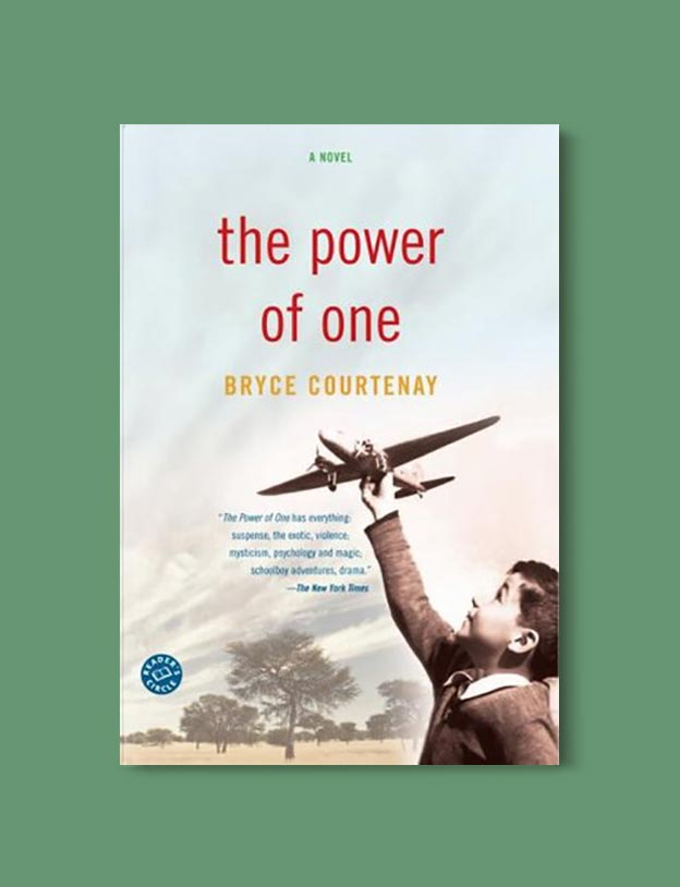 Books Set In South Africa - The Power of One by Bryce Courtenay. For more books that inspire travel visit www.taleway.com to find books set around the world. south african books, books about south africa, south africa inspiration, south africa travel, novels set in south africa, south african novels, books and travel, travel reads, reading list, books around the world, books to read, books set in different countries, south africa
