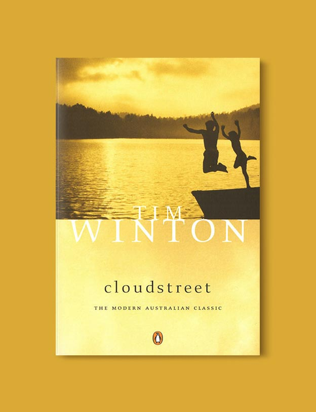 Books Set In Australia - Cloudstreet by Tim Winton. For more books visit www.taleway.com to find books set around the world. Ideas for those who like to travel, both in life and in fiction. australian books, books and travel, travel reads, reading list, books around the world, books to read, books set in different countries, australia
