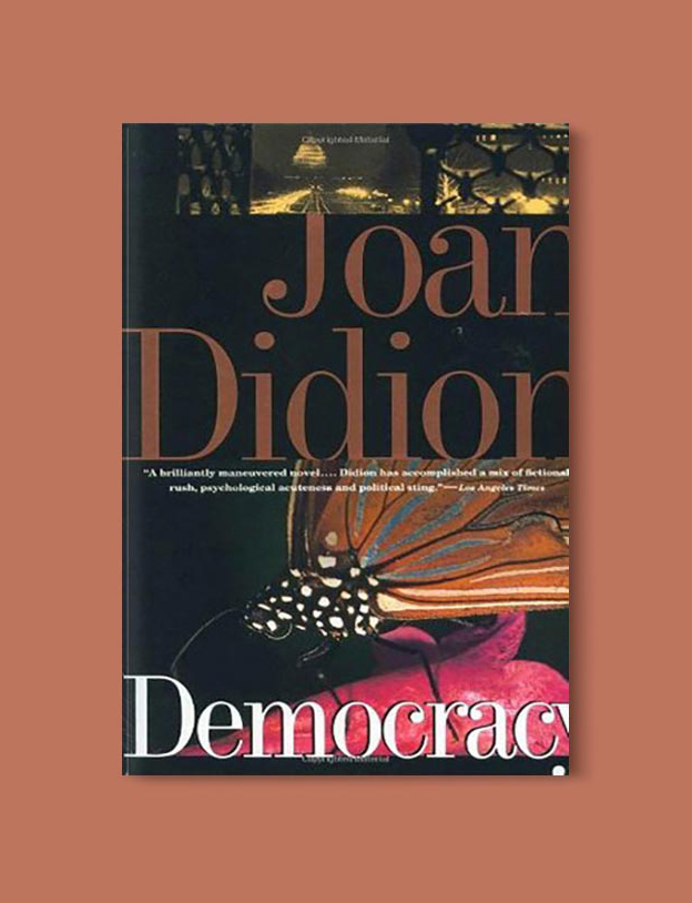 Books Set In Hawaii - Democracy by Joan Didion. For more books visit www.taleway.com to find books from around the world. Ideas for those who like to travel, both in life and in fiction. #books #novels #hawaii #travel #fiction #bookstoread #wanderlust