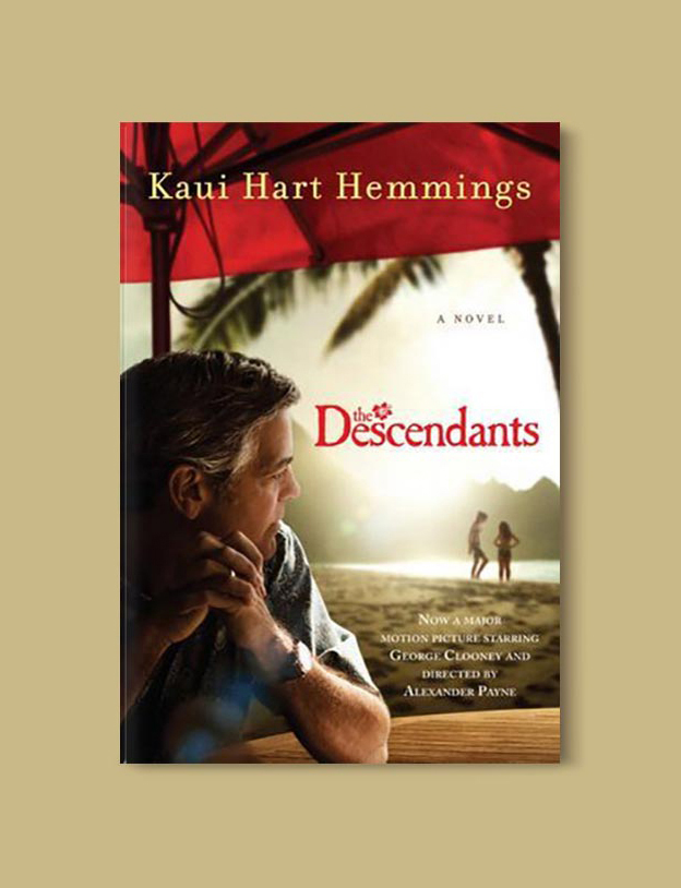 Books Set In Hawaii - The Descendants by Kaui Hart Hennings. For more books visit www.taleway.com to find books from around the world. Ideas for those who like to travel, both in life and in fiction. #books #novels #hawaii #travel #fiction #bookstoread #wanderlust