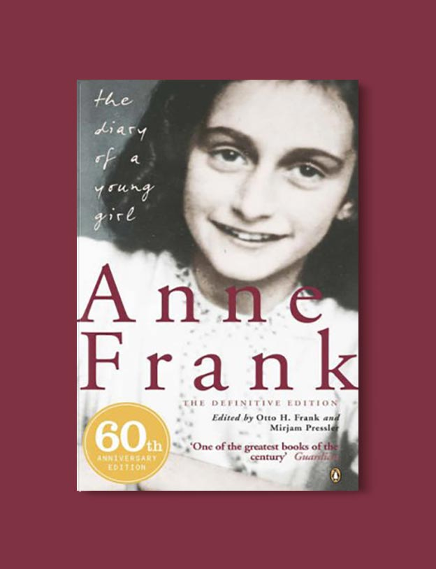 Books Set In Amsterdam - The Diary of a Young Girl by Anne Frank. For more books visit www.taleway.com to find books set around the world. Ideas for those who like to travel, both in life and in fiction. #books #novels #bookworm #booklover #fiction #travel #amsterdam