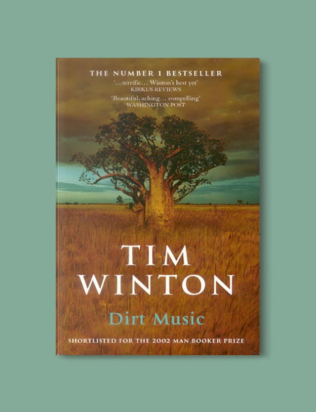 Books Set In Australia - Dirt Music by Tim Winton. For more books visit www.taleway.com to find books set around the world. Ideas for those who like to travel, both in life and in fiction. australian books, books and travel, travel reads, reading list, books around the world, books to read, books set in different countries, australia