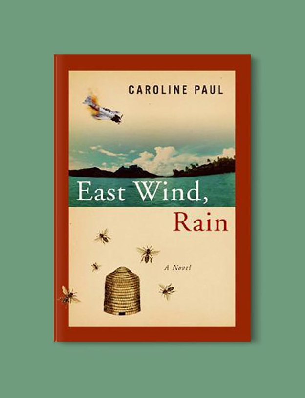 Books Set In Hawaii - East Wind, Rain by Caroline Paul. For more books visit www.taleway.com to find books from around the world. Ideas for those who like to travel, both in life and in fiction. #books #novels #hawaii #travel #fiction #bookstoread #wanderlust