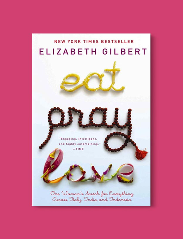 Books Set In Italy - Eat, Pray, Love by Elizabeth Gilbert. For more books that inspire travel visit www.taleway.com to find books set around the world. italian books, books about italy, italy inspiration, italy travel, novels set in italy, italian novels, books and travel, travel reads, reading list, books around the world, books to read, books set in different countries, italy
