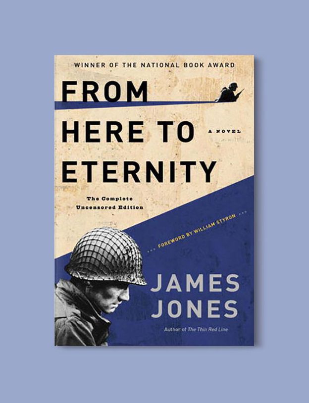Books Set In Hawaii - From Here To Eternity by James Jones. For more books visit www.taleway.com to find books from around the world. Ideas for those who like to travel, both in life and in fiction. #books #novels #hawaii #travel #fiction #bookstoread #wanderlust