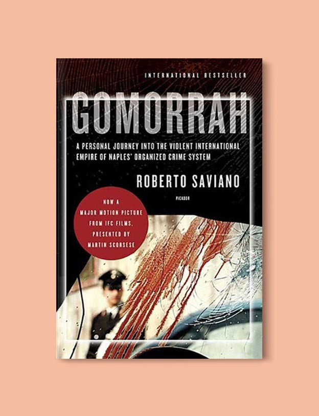 Books Set In Italy - Gomorrah by Roberto Saviano. For more books that inspire travel visit www.taleway.com to find books set around the world. italian books, books about italy, italy inspiration, italy travel, novels set in italy, italian novels, books and travel, travel reads, reading list, books around the world, books to read, books set in different countries, italy