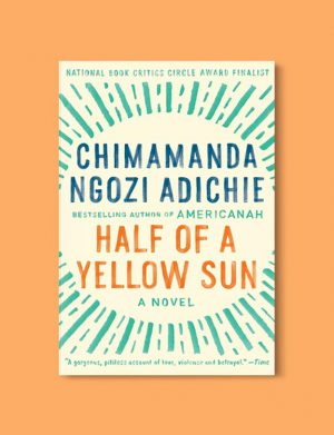 Books Set In Nigeria - Half of a Yellow Sun by Chimamanda Ngozi Adichie. For more books visit www.taleway.com to find books set around the world. Ideas for those who like to travel, both in life and in fiction. Books Set In Africa. Nigerian Books. #books #nigeria #travel