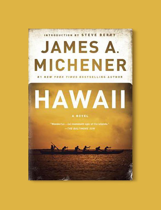 Books Set In Hawaii - Hawaii by James A Michener. For more books visit www.taleway.com to find books from around the world. Ideas for those who like to travel, both in life and in fiction. #books #novels #hawaii #travel #fiction #bookstoread #wanderlust