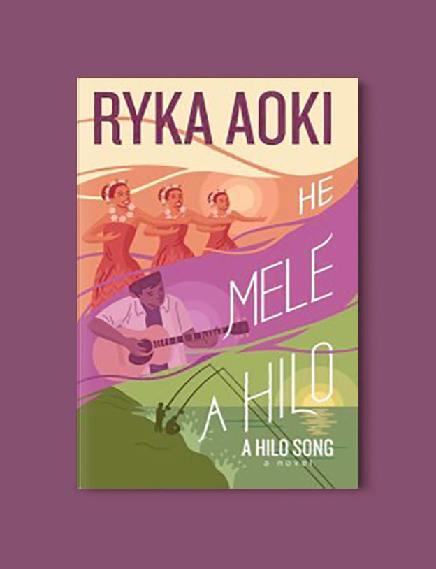 Books Set In Hawaii - He Mele A Hilo by Ryka Aoki. For more books visit www.taleway.com to find books from around the world. Ideas for those who like to travel, both in life and in fiction. #books #novels #hawaii #travel #fiction #bookstoread #wanderlust