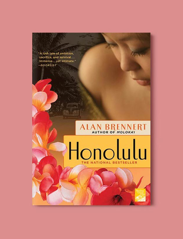 Books Set In Hawaii - Honolulu by Alan Brennert. For more books visit www.taleway.com to find books from around the world. Ideas for those who like to travel, both in life and in fiction. #books #novels #hawaii #travel #fiction #bookstoread #wanderlust