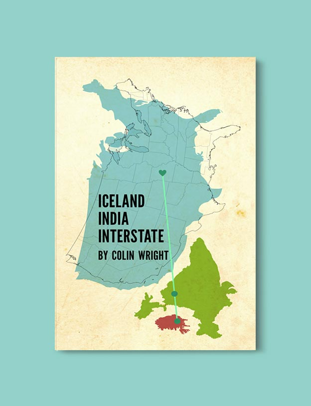 Books Set In India - Iceland, India, Interstate by Colin Wright. For more books visit www.taleway.com to find books set around the world. Ideas for those who like to travel, both in life and in fiction. #books #novels #bookworm #booklover #fiction #travel