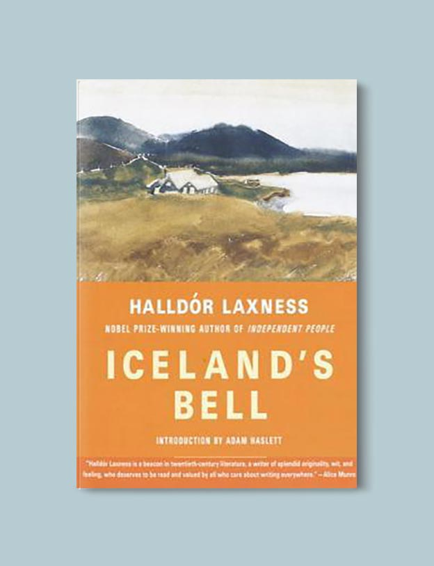 Books Set In Iceland - Iceland's Bell by Halldór Laxness. For more books visit www.taleway.com to find books set around the world. Ideas for those who like to travel, both in life and in fiction. #books #novels #fiction #iceland #travel
