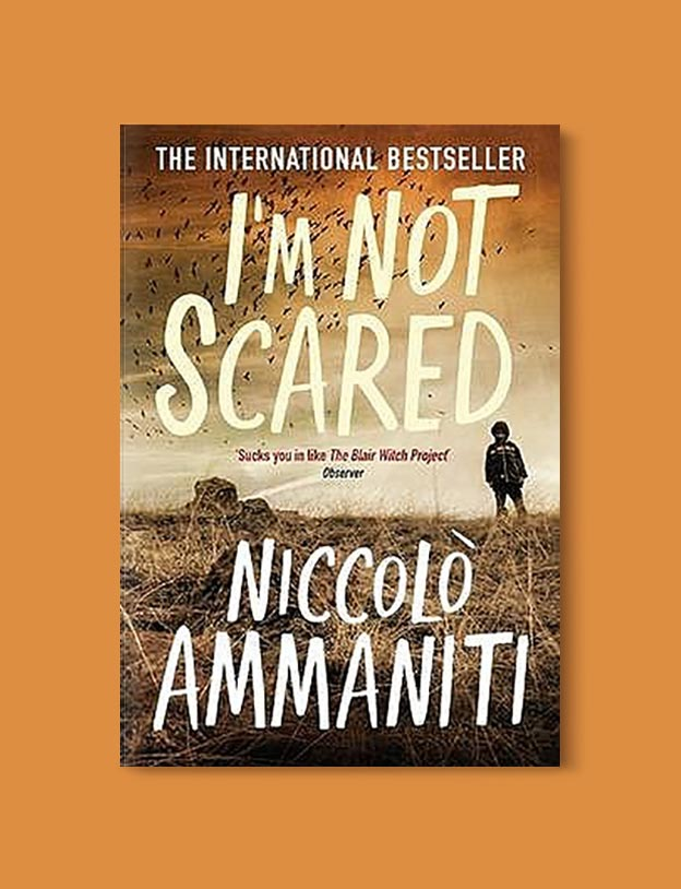Books Set In Italy - I'm Not Scared by Niccolò Ammaniti. For more books that inspire travel visit www.taleway.com to find books set around the world. italian books, books about italy, italy inspiration, italy travel, novels set in italy, italian novels, books and travel, travel reads, reading list, books around the world, books to read, books set in different countries, italy