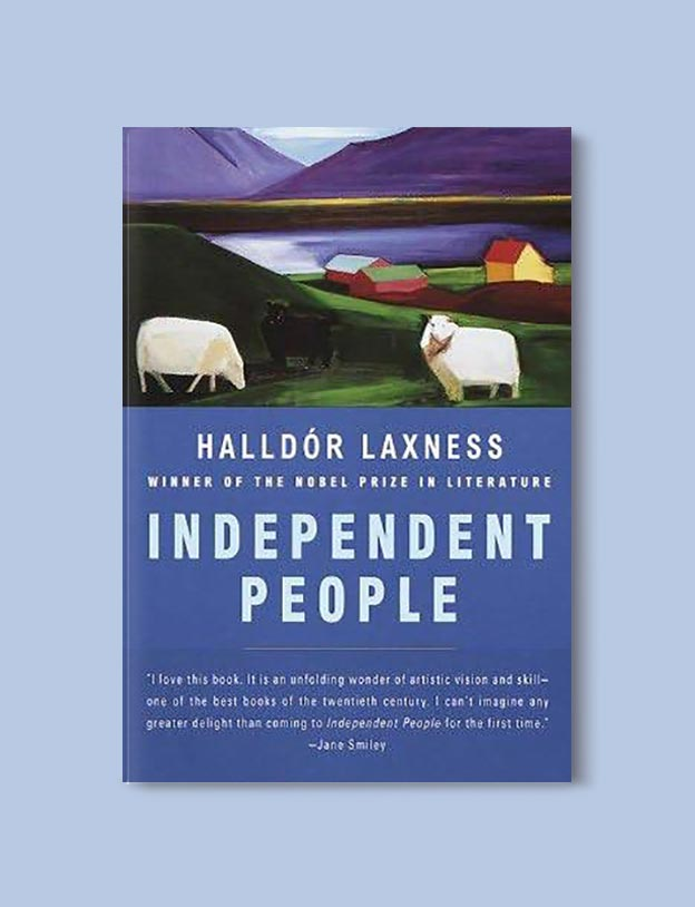 Books Set In Iceland - Independent People by Halldór Laxness. For more books visit www.taleway.com to find books set around the world. Ideas for those who like to travel, both in life and in fiction. #books #novels #fiction #iceland #travel