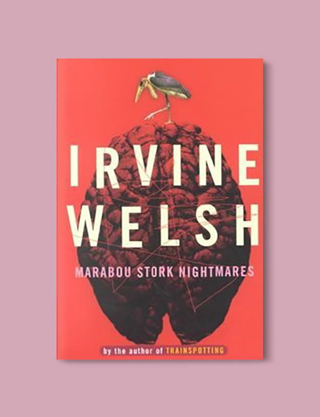 Books Set In South Africa - Marabou Stork Nightmares by Irvine Welsh. For more books that inspire travel visit www.taleway.com to find books set around the world. south african books, books about south africa, south africa inspiration, south africa travel, novels set in south africa, south african novels, books and travel, travel reads, reading list, books around the world, books to read, books set in different countries, south africa