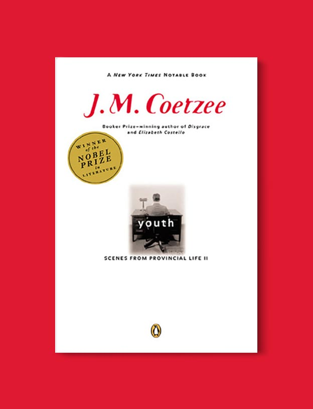 Books Set In South Africa - Youth (Scenes from Provincial Life 2/3) by J.M. Coetzee. For more books that inspire travel visit www.taleway.com to find books set around the world. south african books, books about south africa, south africa inspiration, south africa travel, novels set in south africa, south african novels, books and travel, travel reads, reading list, books around the world, books to read, books set in different countries, south africa