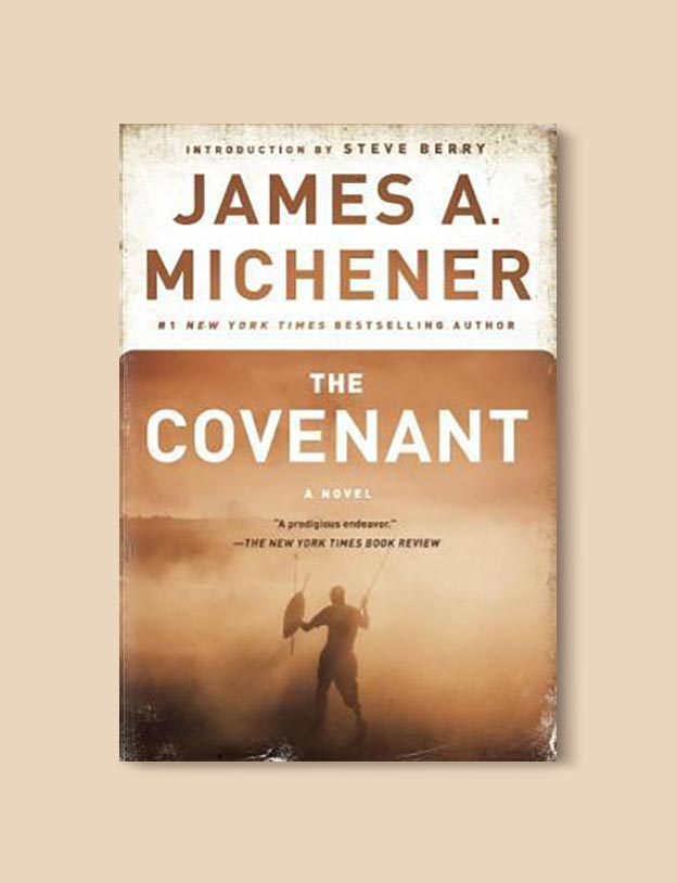 Books Set In South Africa - The Covenant by James A. Michener. For more books that inspire travel visit www.taleway.com to find books set around the world. south african books, books about south africa, south africa inspiration, south africa travel, novels set in south africa, south african novels, books and travel, travel reads, reading list, books around the world, books to read, books set in different countries, south africa