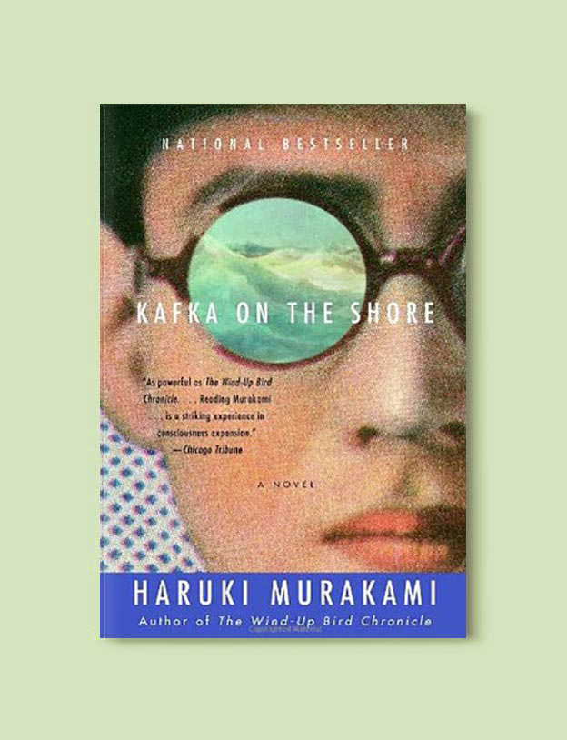 Books Set In Japan - Kafka On The Shore by Haruki Murakami. For more books visit www.taleway.com to find books set around the world. Ideas for those who like to travel, both in life and in fiction. #books #novels #bookworm #booklover #fiction #travel #japan