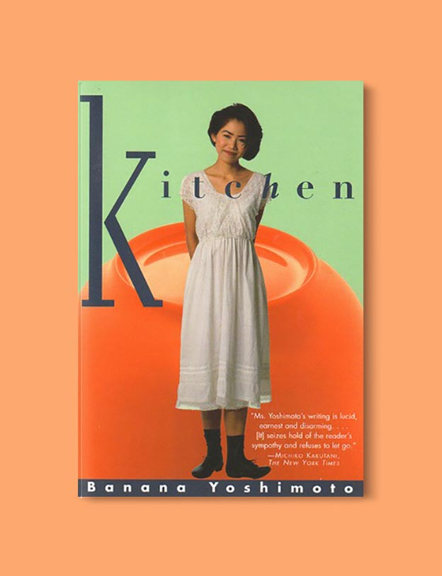 Books Set In Japan - Kitchen by Banana Yoshimoto. For more books visit www.taleway.com to find books set around the world. Ideas for those who like to travel, both in life and in fiction. #books #novels #bookworm #booklover #fiction #travel #japan