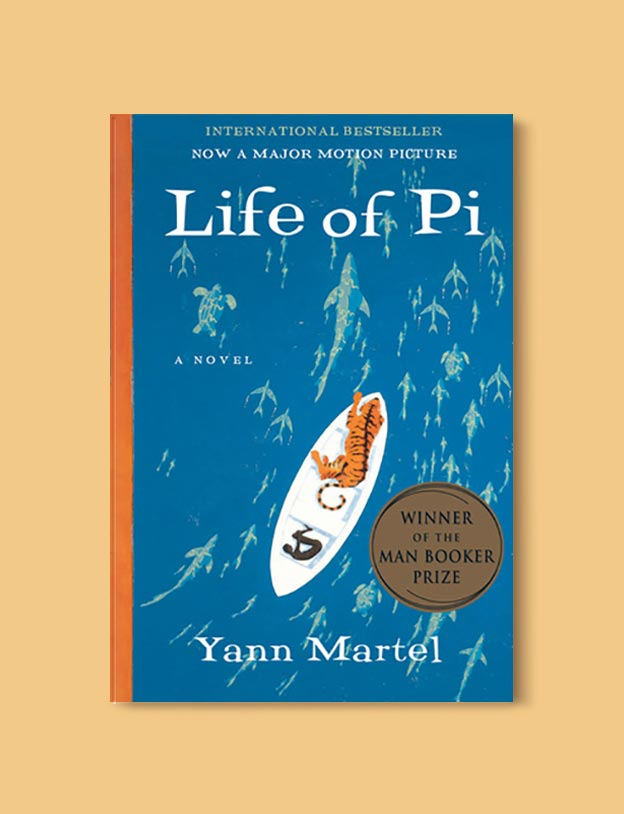 Books Set In India - Life of Pi by Yann Martel. For more books visit www.taleway.com to find books set around the world. Ideas for those who like to travel, both in life and in fiction. #books #novels #bookworm #booklover #fiction #travel