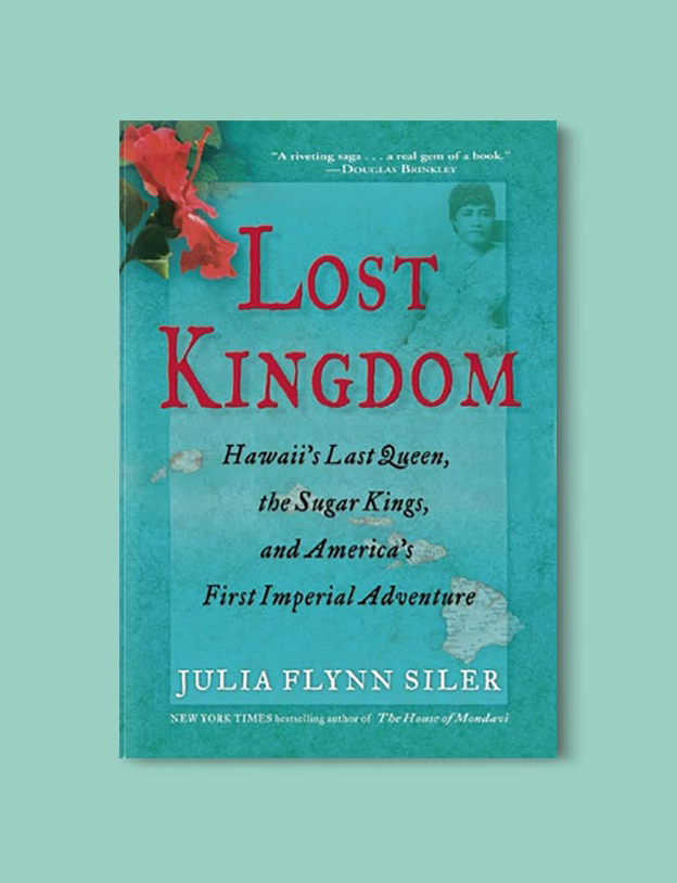 Books Set In Hawaii - Lost Kingdom by Julia Flynn Siler. For more books visit www.taleway.com to find books from around the world. Ideas for those who like to travel, both in life and in fiction. #books #novels #hawaii #travel #fiction #bookstoread #wanderlust