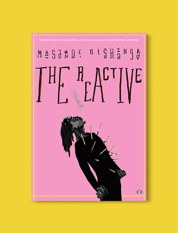 Books Set In South Africa - The Reactive by Masande Ntshanga. For more books that inspire travel visit www.taleway.com to find books set around the world. south african books, books about south africa, south africa inspiration, south africa travel, novels set in south africa, south african novels, books and travel, travel reads, reading list, books around the world, books to read, books set in different countries, south africa