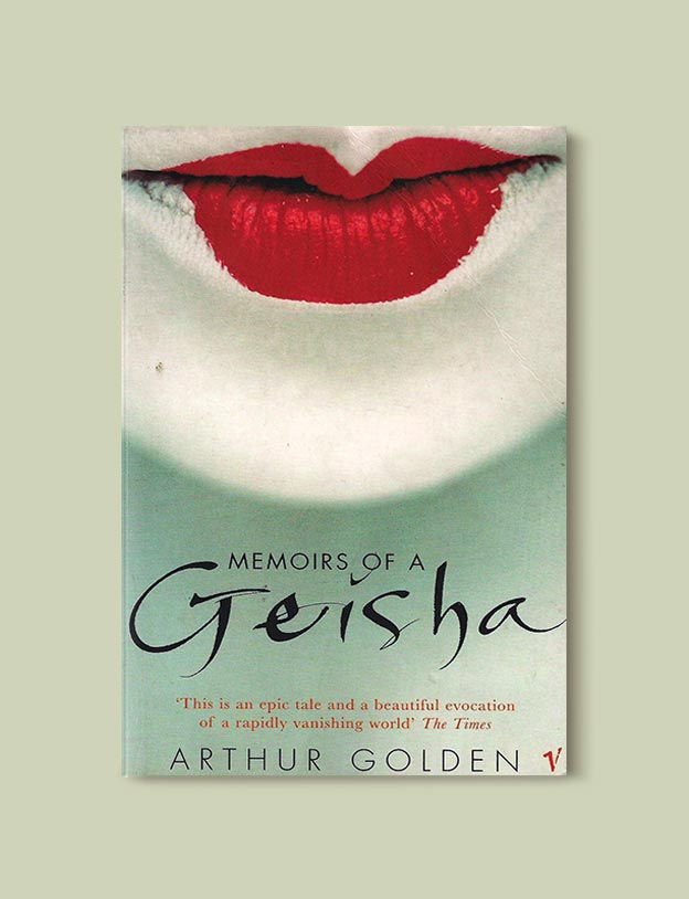 Books Set In Japan - Memoirs of a Geisha by Arthur Golden. For more books visit www.taleway.com to find books set around the world. Ideas for those who like to travel, both in life and in fiction. #books #novels #bookworm #booklover #fiction #travel #japan