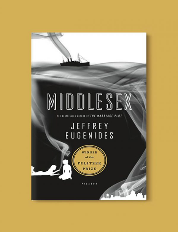 Books Set In Greece - Middlesex by Jeffrey Eugenides. For more books visit www.taleway.com to find books set around the world. Ideas for those who like to travel, both in life and in fiction. #books #novels #fiction #travel #greece