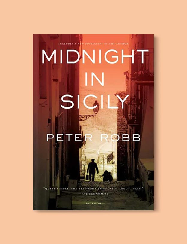 Books Set In Italy - Midnight in Sicily by Peter Robb. For more books that inspire travel visit www.taleway.com to find books set around the world. italian books, books about italy, italy inspiration, italy travel, novels set in italy, italian novels, books and travel, travel reads, reading list, books around the world, books to read, books set in different countries, italy
