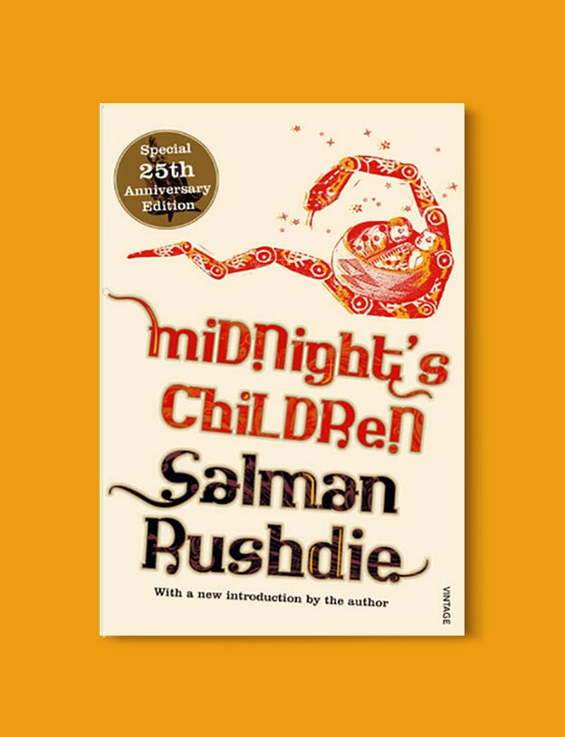 Books Set In India - Midnight's Children by Salman Rushdie. For more books visit www.taleway.com to find books set around the world. Ideas for those who like to travel, both in life and in fiction. #books #novels #bookworm #booklover #fiction #travel