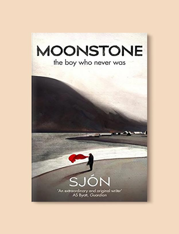 Books Set In Iceland - Moonstone: The Boy Who Never Was by Sjón. For more books visit www.taleway.com to find books set around the world. Ideas for those who like to travel, both in life and in fiction. #books #novels #fiction #iceland #travel