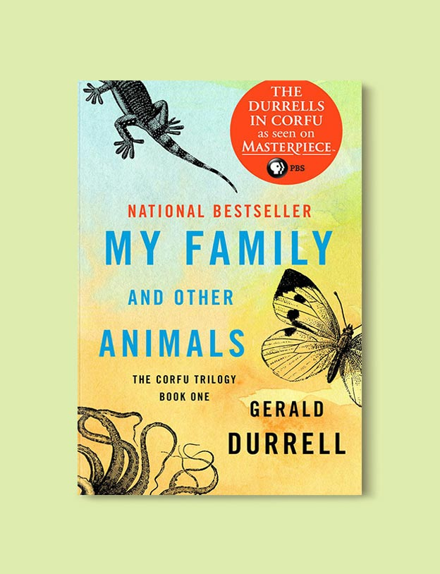 Books Set In Greece - My Family and Other Animals by Gerald Durrell. For more books visit www.taleway.com to find books set around the world. Ideas for those who like to travel, both in life and in fiction. #books #novels #fiction #travel #greece