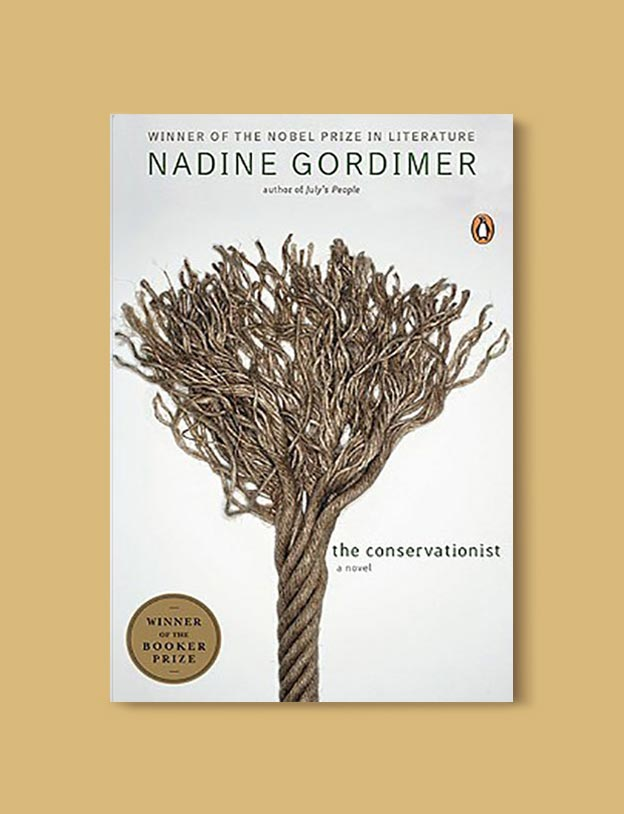 Books Set In South Africa - The Conservationist by Nadine Gordimer. For more books that inspire travel visit www.taleway.com to find books set around the world. south african books, books about south africa, south africa inspiration, south africa travel, novels set in south africa, south african novels, books and travel, travel reads, reading list, books around the world, books to read, books set in different countries, south africa
