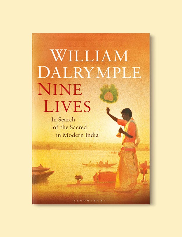 Books Set In India - Nine Lives by William Dalrymple. For more books visit www.taleway.com to find books set around the world. Ideas for those who like to travel, both in life and in fiction. #books #novels #bookworm #booklover #fiction #travel