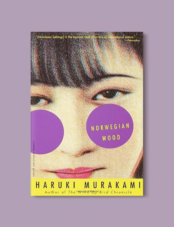 Books Set In Japan - Norwegian Wood by Haruki Murakami. For more books visit www.taleway.com to find books set around the world. Ideas for those who like to travel, both in life and in fiction. #books #novels #bookworm #booklover #fiction #travel #japan