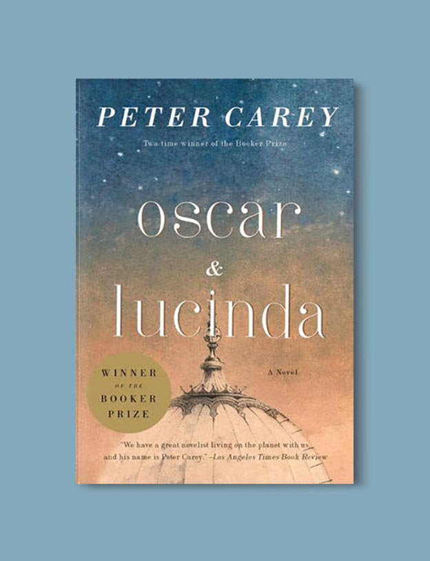 Books Set In Australia - Oscar and Lucinda by Peter Carey. For more books visit www.taleway.com to find books set around the world. Ideas for those who like to travel, both in life and in fiction. australian books, books and travel, travel reads, reading list, books around the world, books to read, books set in different countries, australia